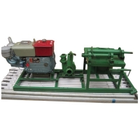 山東恒啟ZT300中小型柴油磨盤農田灌溉打井機