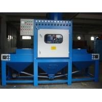 自动输送式喷砂机钢板除锈喷砂设备