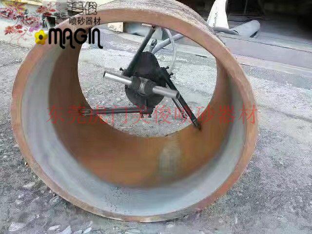 管道喷砂机,管道喷砂枪,管道内壁喷砂器