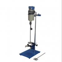 实验室小型转速可调手动升降式电动搅拌机