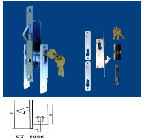 申士牌 塑钢门窗锁ST-8086B