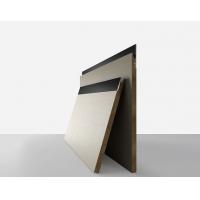 航美無漆實木后成型條形板價格-免拉手通頂實木柜門廠家