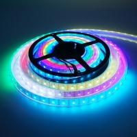 LED 幻彩灯带HD107S 60灯 白板 IP68 DC5