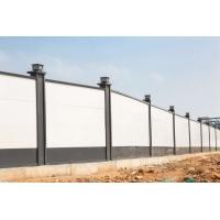 供应市政工程围挡 工地施工烤漆围挡 装配式钢围挡