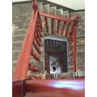 实木楼梯扶手橡胶木扶手楼梯实木扶手