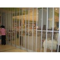 供应H-250型商铺水晶推拉门折叠水晶门