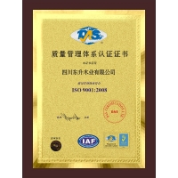 质量管理�体系认证证书