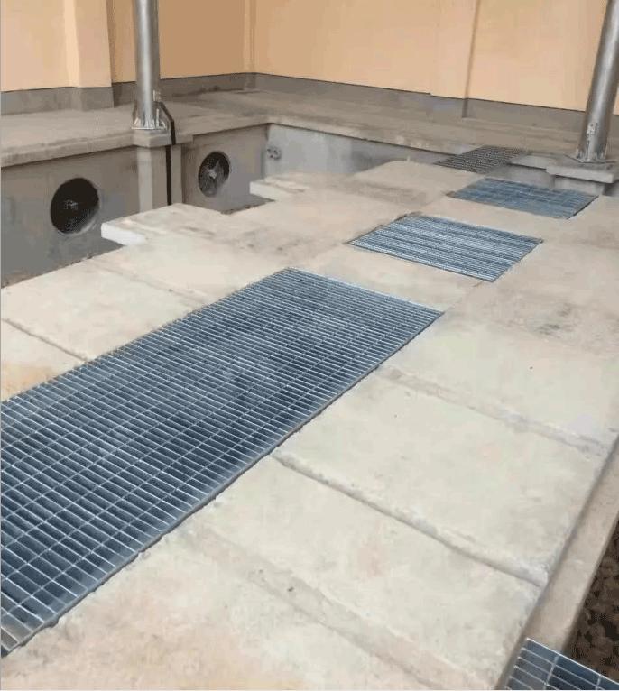 厂家专业生产镀锌沟盖板 钢格板 镀锌格栅板平台板
