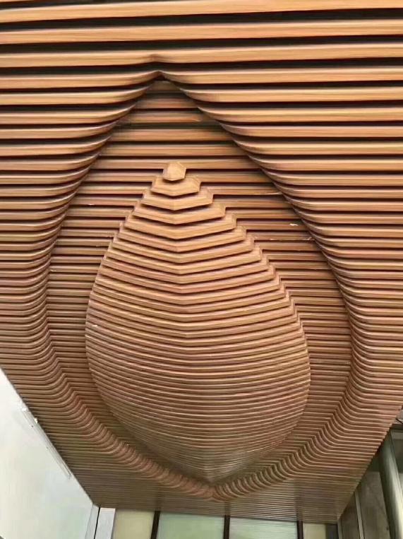 鎂鑫金屬原始經典色木紋鋁方通