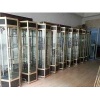 武进玻璃展示柜适用于银行展厅展示,常州鸿尔鑫展示