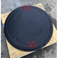 80*5樹脂帶鎖密封重型防靜電井蓋