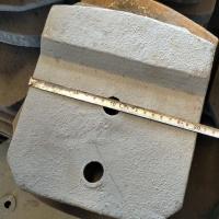 潍坊贝特500稳定土厂拌机叶片 稳定土拌合站叶片