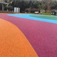 怀化出售压膜地坪压印混凝土透水地坪彩色透水混凝土