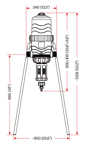 以色列泰丰(TEFEN)TF-25比例式施肥泵加药泵