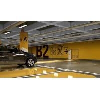 南京道路劃線-地下車庫墻面色彩分區-地下車庫柱面顏色分區