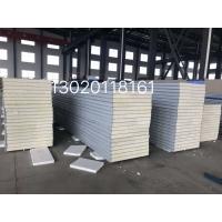 厂家定制泡沫夹芯板、屋面保温板、EPS夹芯板