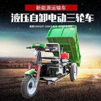 电动三轮拉货车自卸环卫垃圾车农用翻斗车