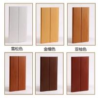 生態木護墻板雙75浮雕板幼兒園走廊墻裙陽臺吊頂天花材料 PV