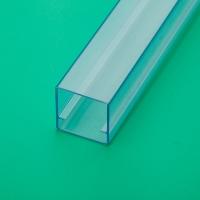 电子元件产品包装塑料管 透明方形管