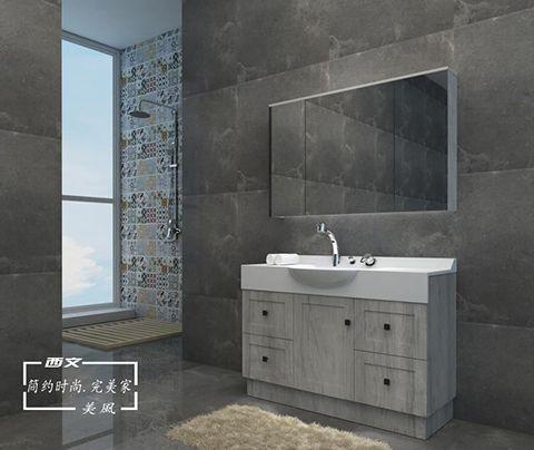 西文定制卫浴2018美风系列浴室柜