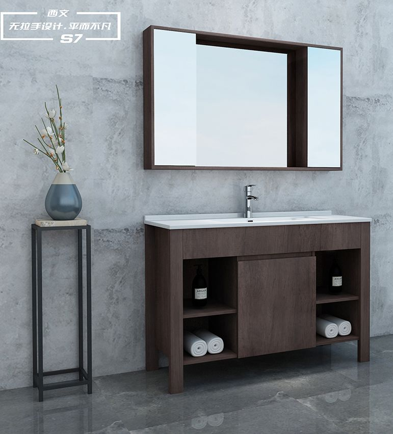 西文定制卫浴2018简欧系列浴室柜