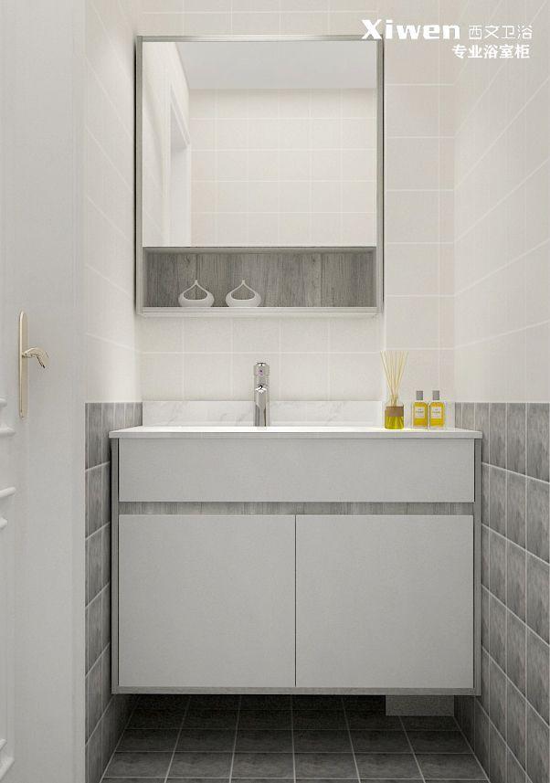 外围体育非标定制-挖缺浴室柜