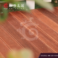 上海川汇菠萝格户外实木地板