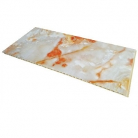 南京竹木纤维护墙板-南京格韵护墙板-600竹木纤维板红冰玉