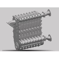 铸硅铝换热器