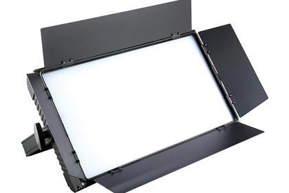 演播室燈具100W影視平板柔光燈專業新聞攝影燈-- 隆耀