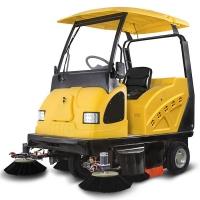 綠保E800W駕駛式電動掃地車