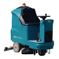 綠美保H760B駕駛式雙刷洗地機