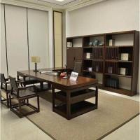 新中式实木仿古办公桌