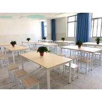 云南昆明学校图书馆阅览桌阅览椅会议室培训桌大型学习桌椅