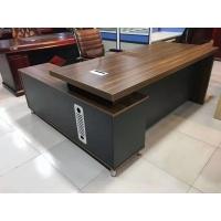 昆明大班桌 老板桌 办公家具配套 上门测量安装