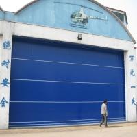 船坞防风隔离柔性大门 超大折叠提升门