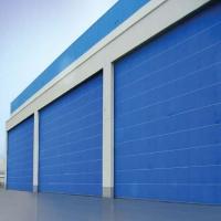 PVC厂房柔性大门  超大折叠提升门