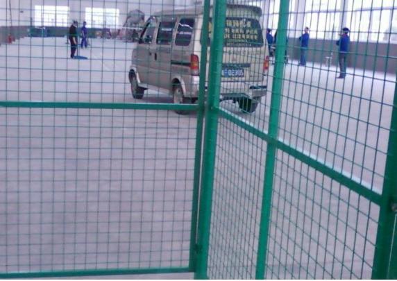 綠色格子車間隔離網@長島綠色格子車間隔離網生產廠家