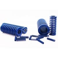 ISO10243标准弹簧 蓝色模具弹簧 矩形弹簧 扁线弹簧