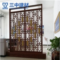 铝窗花 来样定制防盗窗防盗网港式铝窗花防护网