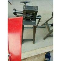 白铁皮保温工具铁皮压边机资料