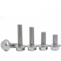 304不锈钢法兰面螺栓、