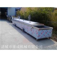 双层网带式龙虾蒸煮机 水产品蒸煮线