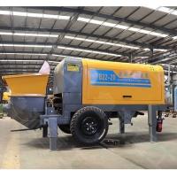 大型二次结构浇筑泵 20型地泵 工程建设专用大骨料颗粒输送泵