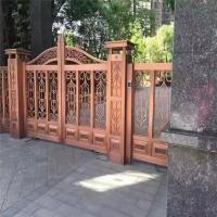 不銹鋼庭院門定制  別墅小區花園簡約不銹鋼庭院門