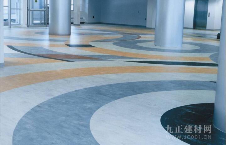 亚麻地板装修效果图1