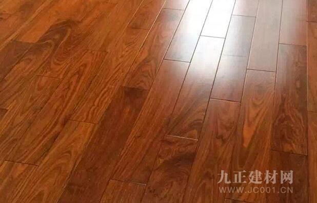 花梨木地板装修效果图6