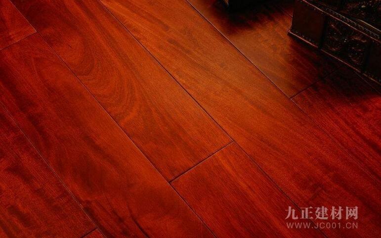 花梨木地板装修效果图7