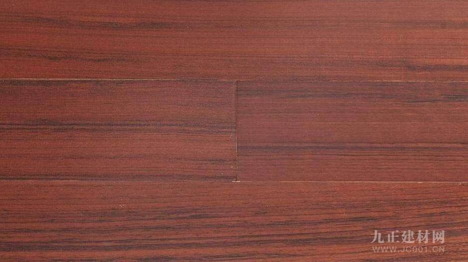 核桃木地板装修效果图1