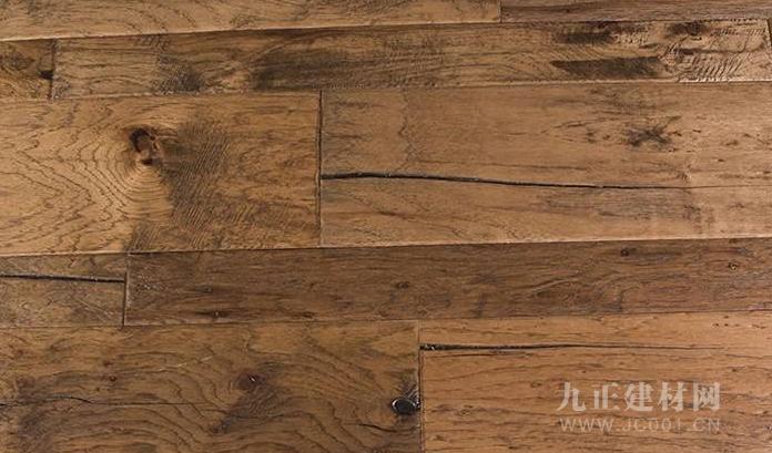 核桃木地板装修效果图2